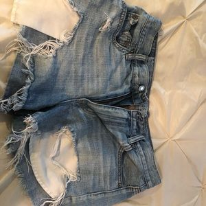 3 pairs of denim jean shorts size 10